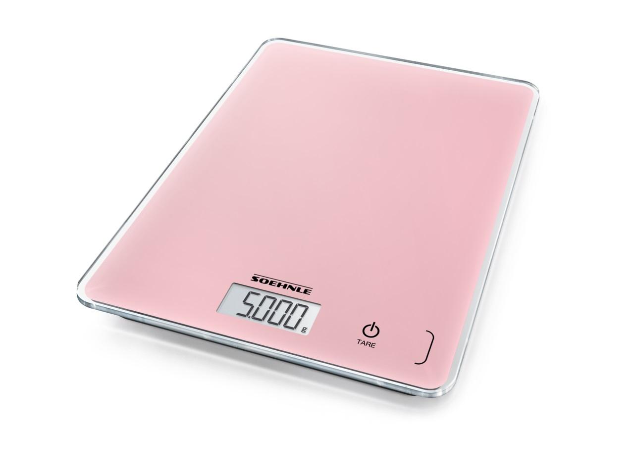 Soehnle Digitální kuchyňská váha Page Compact 300 Delicate Rosé 61512