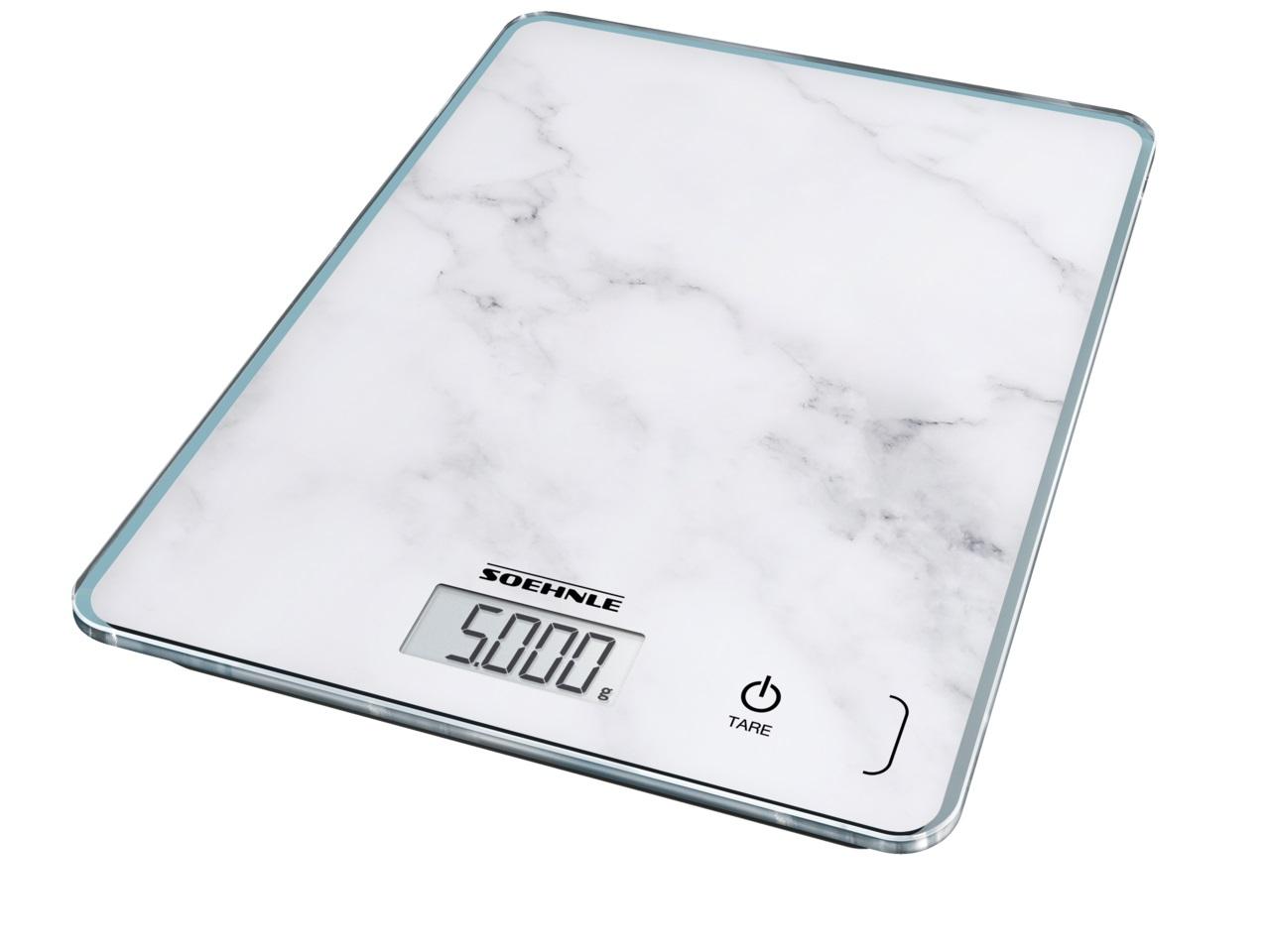 Soehnle Digitální kuchyňská váha Page Compact 300 - motiv mramor 61516